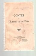 Comtesse MARIE DE VILLERMONT - CONTES DE GUERRE ET PAIX - 1920 - Bücher, Zeitschriften, Comics