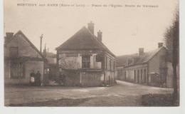 Eure Et Loir MONTIGNY SUR AVRE Place De L'eglise. Oute De Verneuil - Montigny-sur-Avre