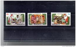 VANUATU 702/704** SUR NOEL 1984 AVEC LE PERE NOEL - Vanuatu (1980-...)