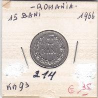 15 Bani ROUMANIE 1966 - Roumanie