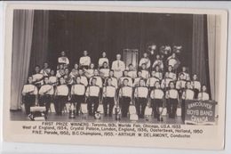 VANCOUVER BOYS BAND CANADA - First Prize Winners - Fanfare - Chicago World Fair - Vancouver