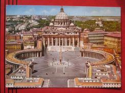Roma / Citta Del Vaticano (RM) - Piazza S. Pietro Vista Dall´aereo / Flugaufnahme - Vatikanstadt