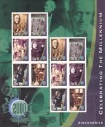 2000, Irland, 1216/21 ZD-Bogen,  Jahrtausendwende (III): Entdeckungen.  MNH **, - Blocks & Sheetlets