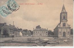 SAINT LEGER  ( Somme ) - La Place   PRIX FIXE - France