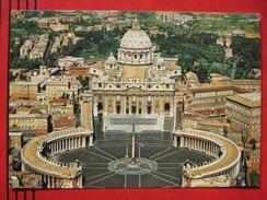 Roma / Citta Del Vaticano (RM) - Piazza S. Pietro Veduta Aerea / Flugaufnahme - Vatikanstadt