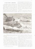 UN COUP DE MER    à  MORSALINES  ( MANCHE) 1893 - Normandie