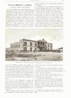 LES EAUX MINERALES AU MEXIQUE (  LES BAINS DU PENON Prés De MEXICO )  1893 - Messico