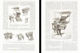 """LES MACHINES à COMPOSER """" LA MERGUENTHALER   LINOTYPE """" 1893 - Unclassified"""