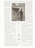 LAMPE-VEILLEUSE MOBILE Pour ESCALIER   1893 - Non Classés