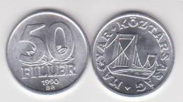 Hungria 50 Filler 1.990 Aluminio KM#574 SC/UNC       T-DL-10.261 - Hungría