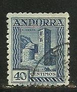 EUROPA-ANDORRA CORREO ESPAÑOL Nº 22a EDIFI D USADO . (S.1B.C.4.17) - Andorra Spagnola