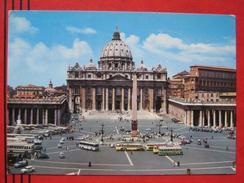 Roma / Citta Del Vaticano (RM) - Piazza  Di S. Pietro / Auto, Autobus - Vatikanstadt