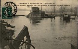49 - MONTREUIL-BELLAY - Catastrophe Ferrovière - Accident De Train - Montreuil Bellay