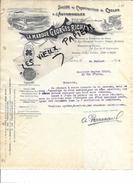 75 - Paris - PARIS - Facture RICHARD - Sté De Construction De Cycles Et D'automobiles - 1899 - REF 63C - 1900 – 1949