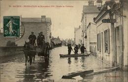 49 - SAUMUR - Inondations 1910 - Octroi - Saumur