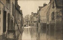 49 - SAUMUR - Inondations 1910 - CARTE PHOTO - Saumur