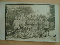 CPA PHOTO MILITAIRE - Guerre 1914-18