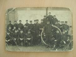 CPA PHOTO MILITAIRE - Guerra 1914-18