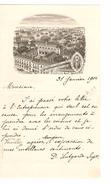 Lettre Du Pensionnat Des Dames De Marie 70 Chaussée De Haecht St.Josse-Ten-Noode Bruxelles PR4368 - 1900 – 1949