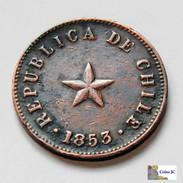 Chile - 1/2 Centavo - 1853 - Chile