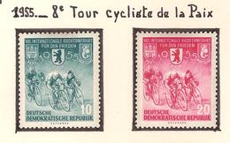 Allemagne Orientale 1955, 8 ème Tour Cycliste De La Paix ( Thématique Sport ) - BRD