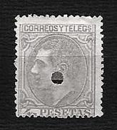 SPAGNA 1879 - Telegrafos - Alfonso XII - 4 P. - Edi:ES 198T - Nuovi