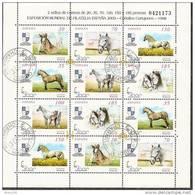 1998-ED.3608a3613A-M.P.62 -CABALLOS.ESPAÑA  2000-USADO - 1931-Aujourd'hui: II. République - ....Juan Carlos I