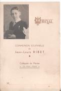 Menu Communion Solennelle Jean Louis Rinet 78 Mantes Collegiale 23 Mai 1948 - Menus