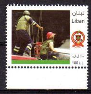 2010; Firemen , Pompiers, Libanon, Liban, Libanon,  Neuf ** , Lot 47794 - Libanon