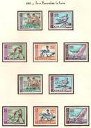 Arabie Du Sud Est ( Emirat D'Ajman ) 1965, Jeux Panarabes, Le Caire ( Thématique Sport ) - Arabie Saoudite