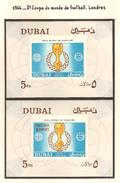 Arabie Du Sud Est ( Emirat De Dubaï ) 1966, 8 ème Coupe Du Monde De Football, Londres ( Thématique Sport ) - Arabie Saoudite