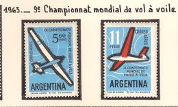 Argentine 1963, 9 ème Championnat Mondial De Vol à Voile ( Thématique Sport ) - Argentine