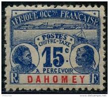 Dahomey (1906) Taxe N 3 * (charniere)