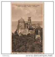 PTGLTP1246CPA-LFTD4256TARCA . TARJETA POSTAL DE PORTUGAL.Catillo Palacio De CINTRA - Castillos