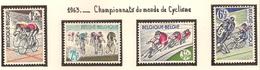 Belgique 1963, Championnats Du Monde De Cyclisme ( Thématique Sport ) - Belgien