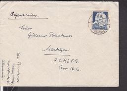 Brief Deutsches Reich 575 EF Stempel Aalen Nach Argentinien 1936 - Briefe U. Dokumente