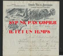 21 BEAUNE - Fortier PICARD - Garnds Vins De Bourgogne  -  établie En 1909 - 1900 – 1949