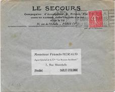 Env. Le Secours - Perf. SA 12 Sur 199 - Perfins