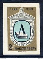 HUNGARY 1969 Athenauem Printing Works Imperforate  MNH / **.  Michel 2475B - Hungary