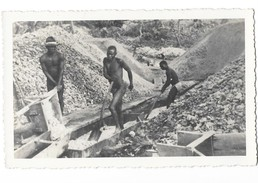 OUBANGUI CHARRI (AEF) Tamisage De L'or - Centrafricaine (République)
