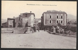 BOURDEAUX Entrée De La Rue Du Pont (Guignes) Drôme (26) - Frankreich