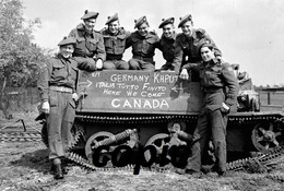 Photo WW2 Canadian Soldier D-day Landing Normandy /19 - Reproductions