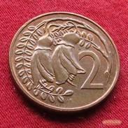 New Zealand 2 Cents 1980 KM# 32.1  Nova Zelandia Nuova Zelanda Nouvelle Zelande - New Zealand