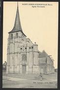 SAINT AUBIN D'ESCROVILLE L'Eglise (Loiraud L'H) Eure (27) - Saint-Aubin-d'Ecrosville