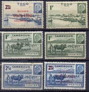 FRANCE Et COLONIES ! Timbres Ancien NEUFS Du Cameroun Et Togo Depuis 1944 - Cameroun (1915-1959)