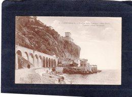 69012    Italia,    Ventimiglia,  Confine Italia-Francese,  Balzi Rossi,  Viadotto E Hotel  Nioramare,  VG  1922 - Imperia