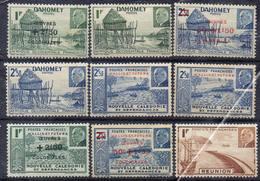 FRANCE Et COLONIES ! Timbres Ancien NEUFS Du Dahomey, Caledonie, Réunion Depuis 1944 - Mauritanie (1906-1944)
