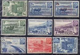 FRANCE Et COLONIES ! Timbres Ancien NEUFS Du Dahomey, Caledonie, Réunion Depuis 1944 - Neufs