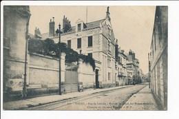 Carte De TOURS Rue De Lariche  Maison De Santé Des Dames Blanches Clinique Du Docteur Barnsby  ( Recto Verso ) - Tours