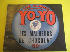 Livret Illustré/Les Albums YO-YO/Les Malheurs De Chocolat /La Platinogravure/MONTROUGE/Vers 1930   BD103 - Sonstige Comic-Artikel